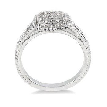 .05ct tw Diamond Fashion Ring in Sterling Silver
