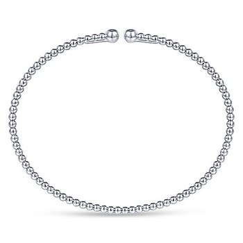 Bujukan Bangle Bracelet in 14K White Gold
