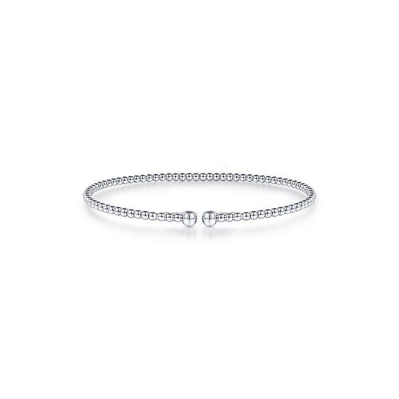 Bujukan Bangle Bracelet in 14K White Gold