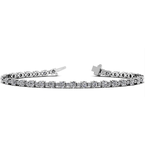 2 7/8ct tw Diamond Bracelet in 14K White Gold