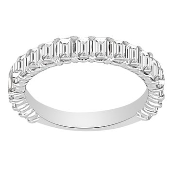 1 7/8ct tw NewBorn Lab Created Diamond Stackable Ring in 14K White Gold