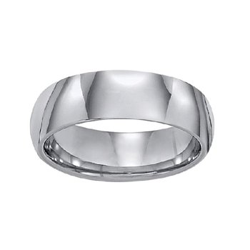 7mm Tungsten Wedding Ring