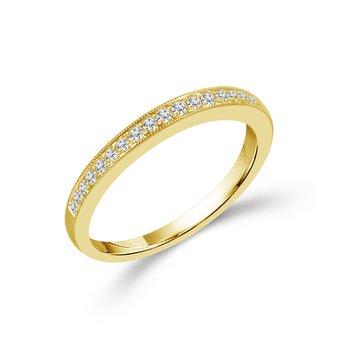 1/5ct tw Diamond Wedding Ring in 14K Yellow Gold