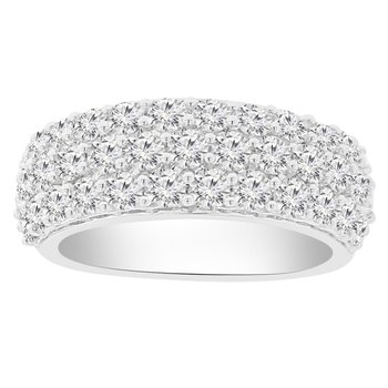 2ct tw NewBorn Lab Created Diamond Fashion Ring in 14K White Gold