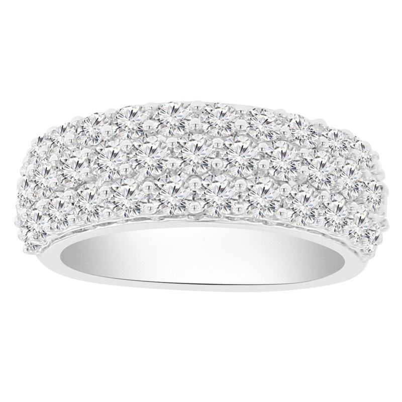 2ct tw NewBorn Lab Created Diamond Fashion Ring in 14K White Gold