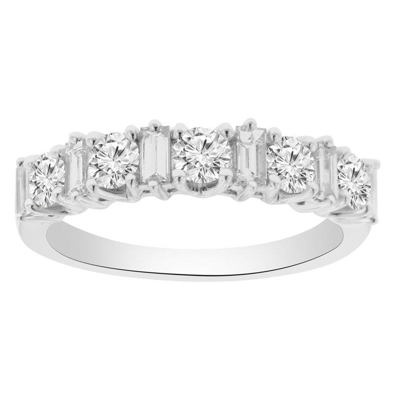 1ct tw Diamond Anniversary Ring in 18K White Gold