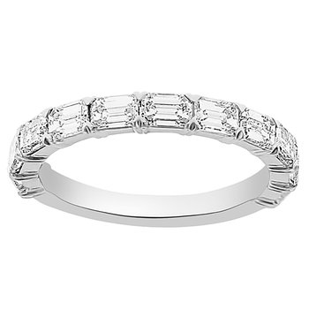 1 1/2ct tw Diamond Stackable Ring in 14K White Gold