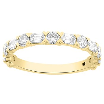 1 1/8ct tw Diamond Stackable Ring in 14K Yellow Gold