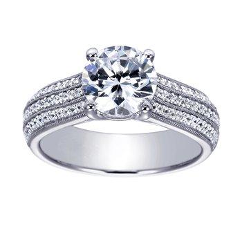 1 7/8ct tw Diamond Engagement Ring in Platinum
