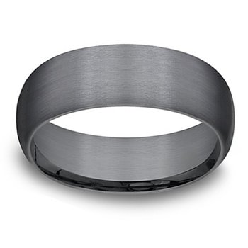 8mm Wedding Ring in Tantalum