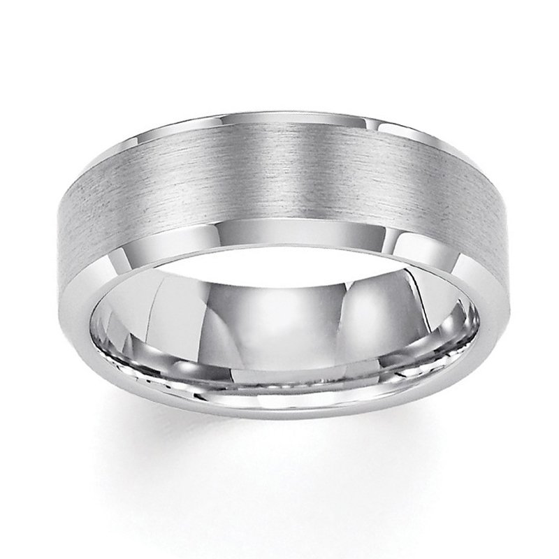 8mm Wedding Ring in Tungsten