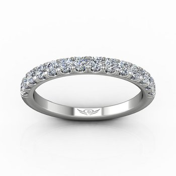 5/8ct tw Diamond Wedding Ring in 14K White Gold