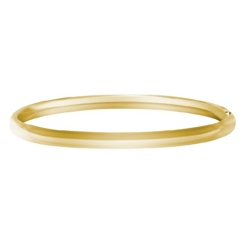 Bangle Bracelet in Gold Filled 14K Yellow Gold
