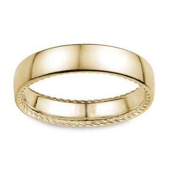5mm Wedding Ring in 14K Yellow Gold