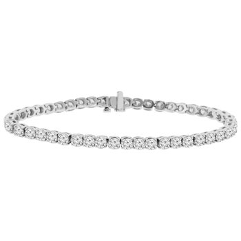 8 1/2ct tw Diamond Tennis Bracelet in 14K White Gold