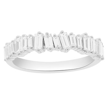 7/8ct tw Diamond Stackable Ring in 14K White Gold