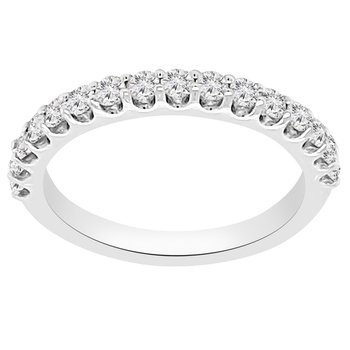 1/2ct tw Diamond Anniversary Ring in 14K White Gold