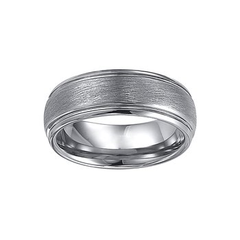 8mm Tungsten Wedding Ring
