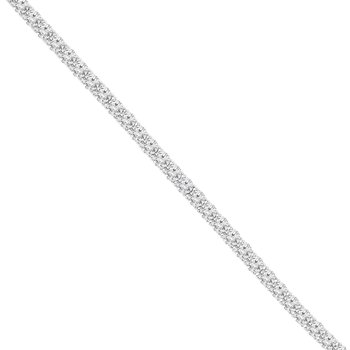 10ct tw Diamond Tennis Bracelet in 14K White Gold