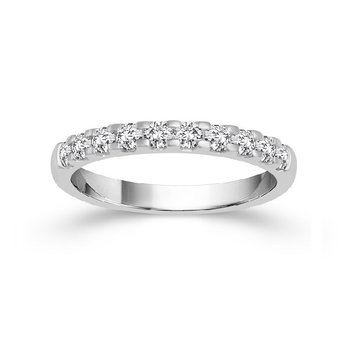 3/4ct tw Diamond Anniversary Ring in 14K White Gold