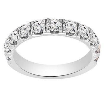 1 1/4ct tw NewBorn Lab Created Diamond Wedding Ring in 14K White Gold