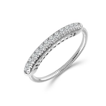 1/5ct tw Diamond Flexi Collection Ring in 14K White Gold