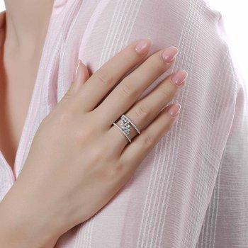 9/10ct tw NewBorn Lab Created Diamond Fashion Ring in 10K White Gold