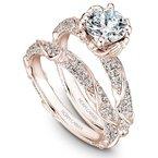 1 1/2ct tw Diamond Engagement Ring in 14K Rose Gold