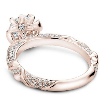 1 1/2ct tw Diamond Engagement Ring in 14K Rose Gold
