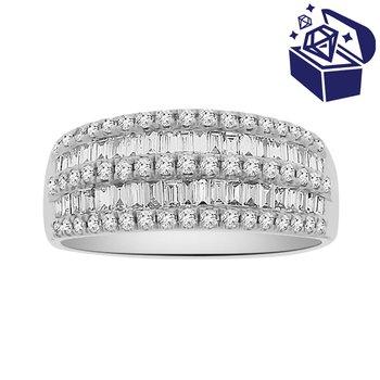 Treasure Hunt Value 3/4ct tw Diamond Fashion Ring in 18K White Gold