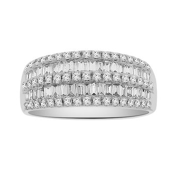 3/4ct tw Diamond Fashion Ring in 18K White Gold
