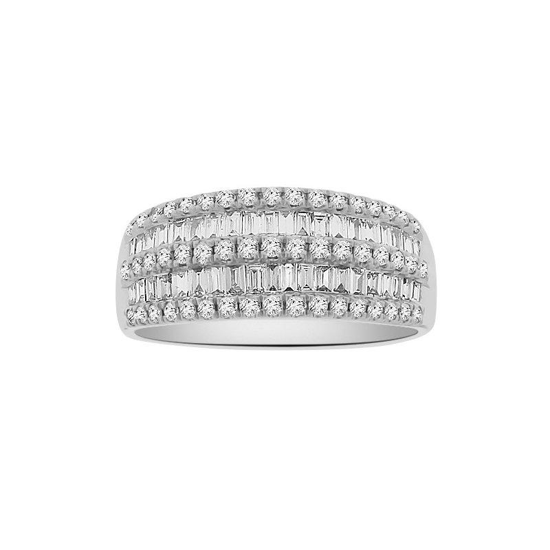 3/4ct tw Diamond Fashion Ring in 18K White Gold