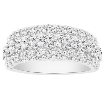 2 1/4ct tw NewBorn Lab Created Diamond Fashion Ring in 14K White Gold