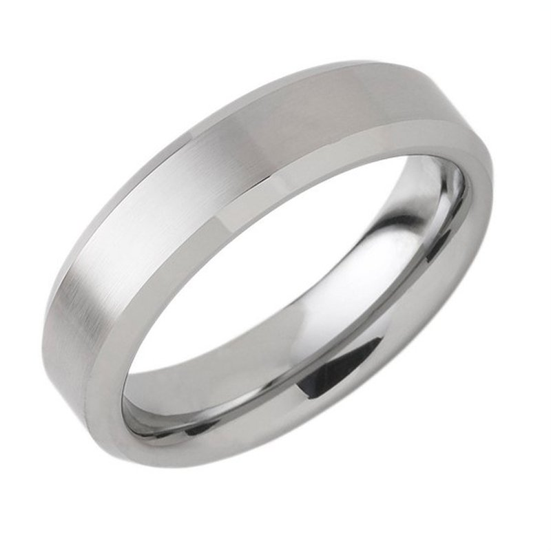 6mm Wedding Ring in Tungsten