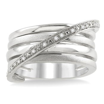 1/14ct tw Diamond Fashion Ring in Sterling Silver