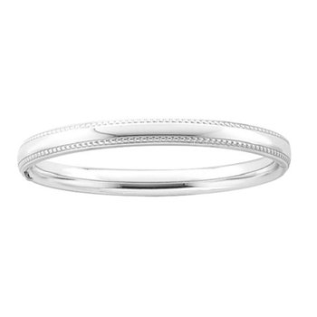 Bangle Bracelet in Sterling Silver