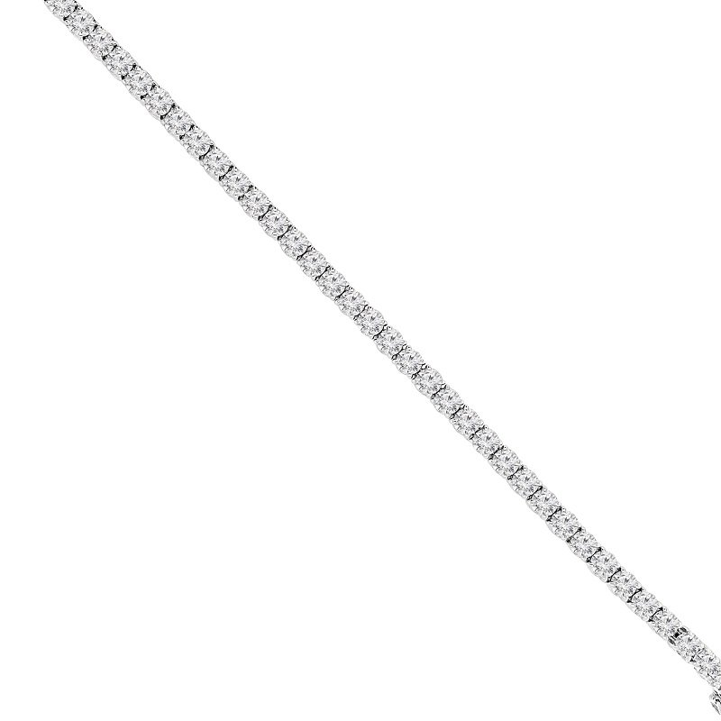 10 1/2ct tw NewBorn Lab Created Diamond Tennis Bracelet in 14K White Gold