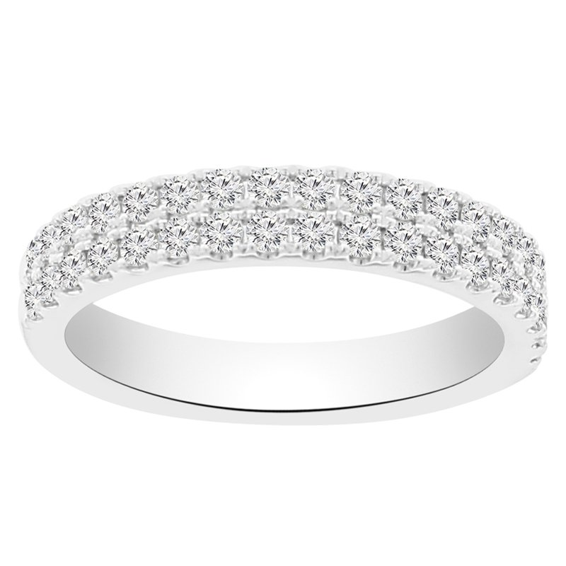 5/8ct tw Diamond Stackable Ring in 14K White Gold