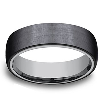 6.5mm Wedding Ring in Tantalum & Titanium