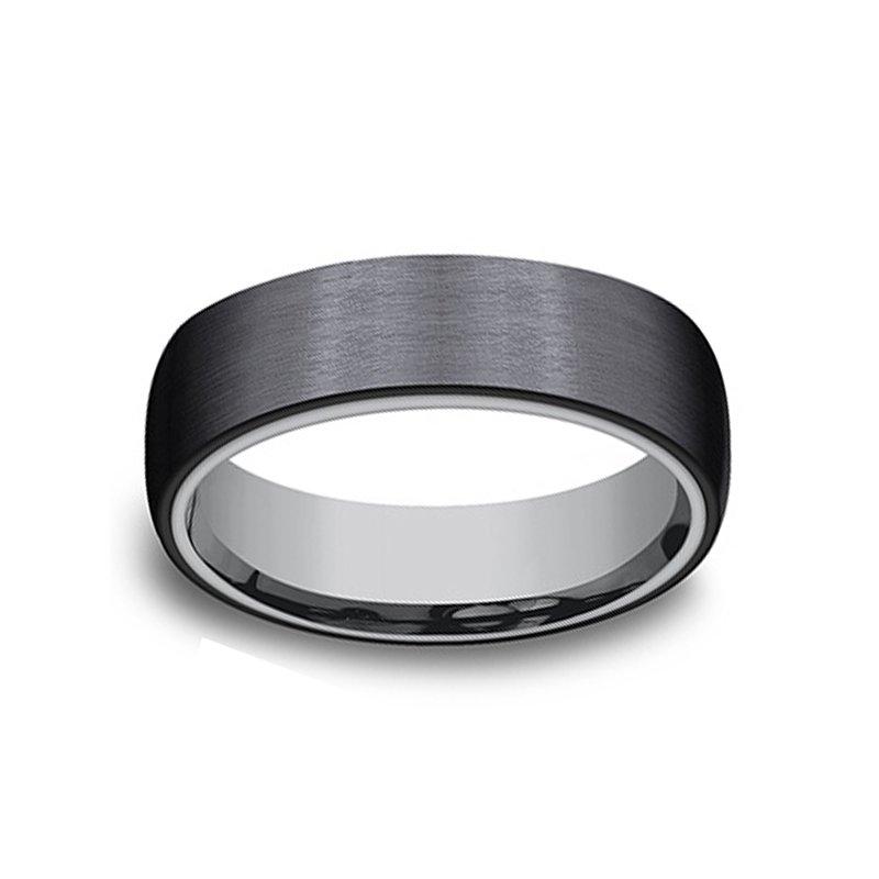 6.5mm Wedding Ring in Tantalum & Titanium