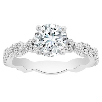 1 7/8ct tw NewBorn Lab Created Diamond Engagement Ring in Platinum