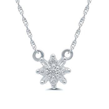 1/10ct tw Diamond Fashion Necklace in 10K White Gold