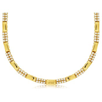 3/4ct tw Diamond Fashion Necklace in 14K Yellow Gold