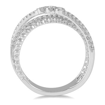 1/3ct tw Diamond Fashion Ring in 14K White Gold