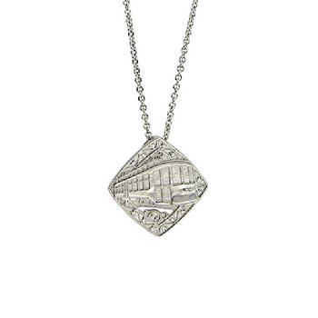 Nola Collection Streetcar Necklace in Sterling Silver