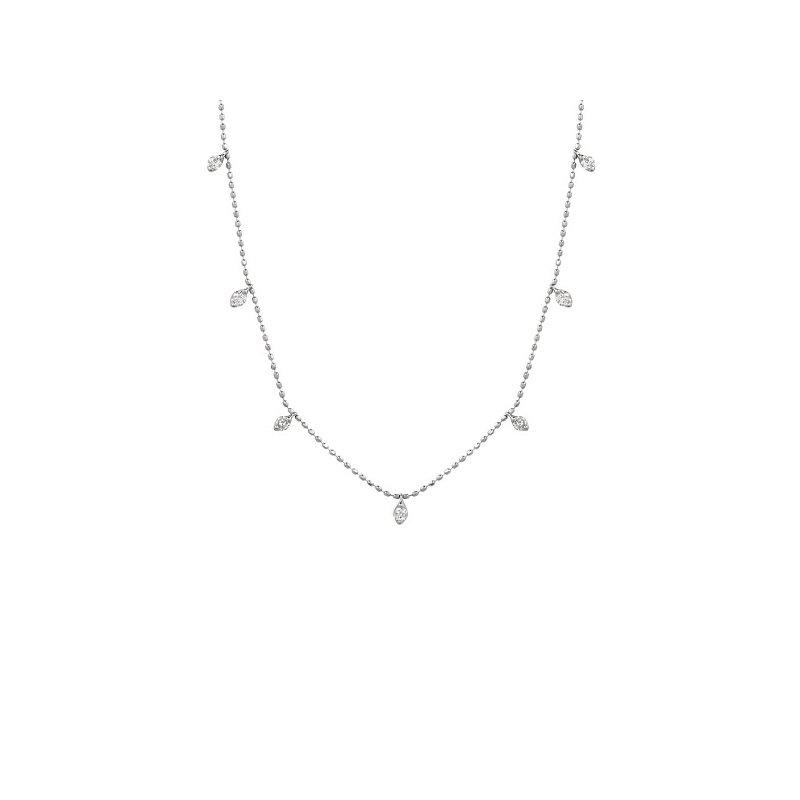 1/2ct tw Diamond Fashion Necklace in 18K White Gold
