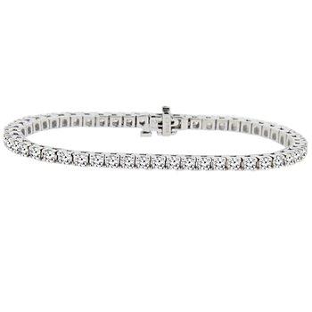 4ct tw Diamond Tennis Bracelet in 14K White Gold