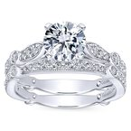 1 1/3ct tw Diamond Engagement Ring in 14K White Gold