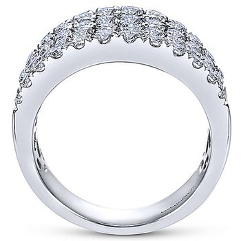 1 7/8ct tw Diamond Fashion Ring in 14K White Gold