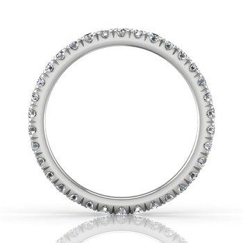 3/4ct tw Diamond Eternity Ring in 14K White Gold